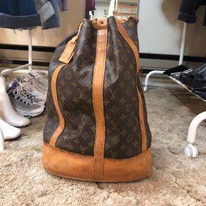 AUTH Louis Vuitton Randonnee bag